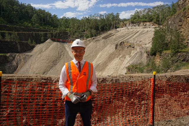 HORNSBY QUARRY REACHES HALF WAY POINT