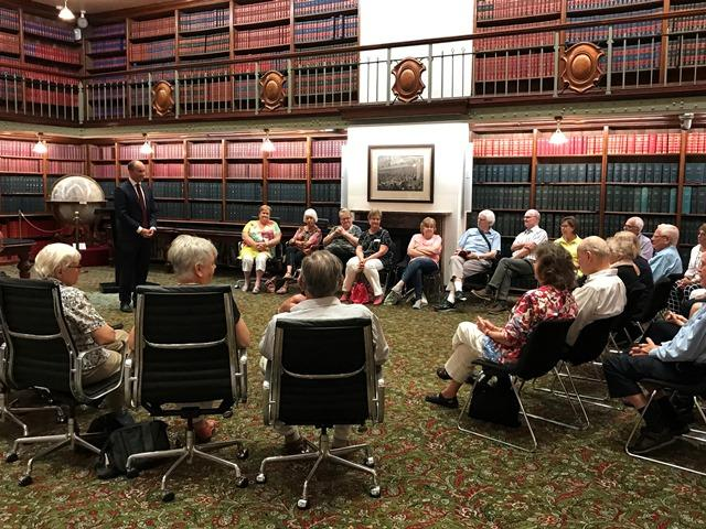 ASQUITH MIXED PROBUS VISITS STATE PARLIAMENT