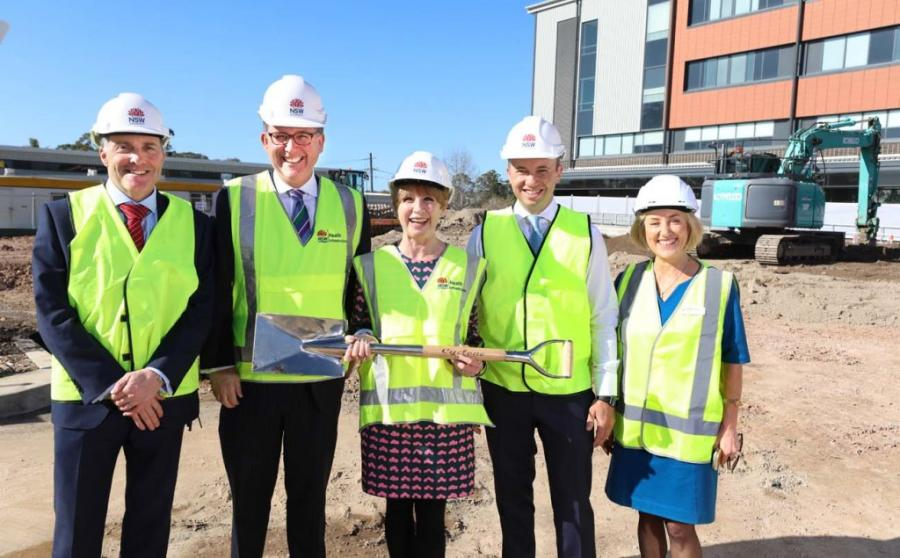 Stage 2 rebuild begins at Hornsby Ku-ring-gai Hospital