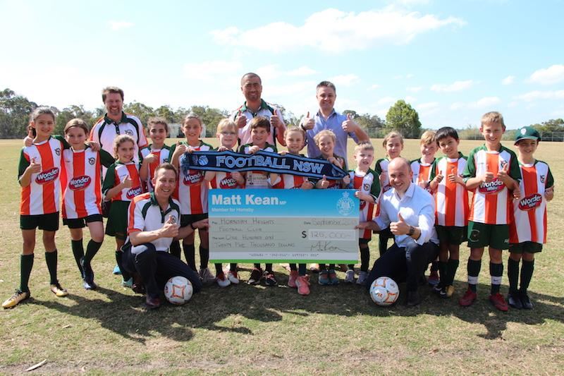 Big boost for Hornsby Heights FC