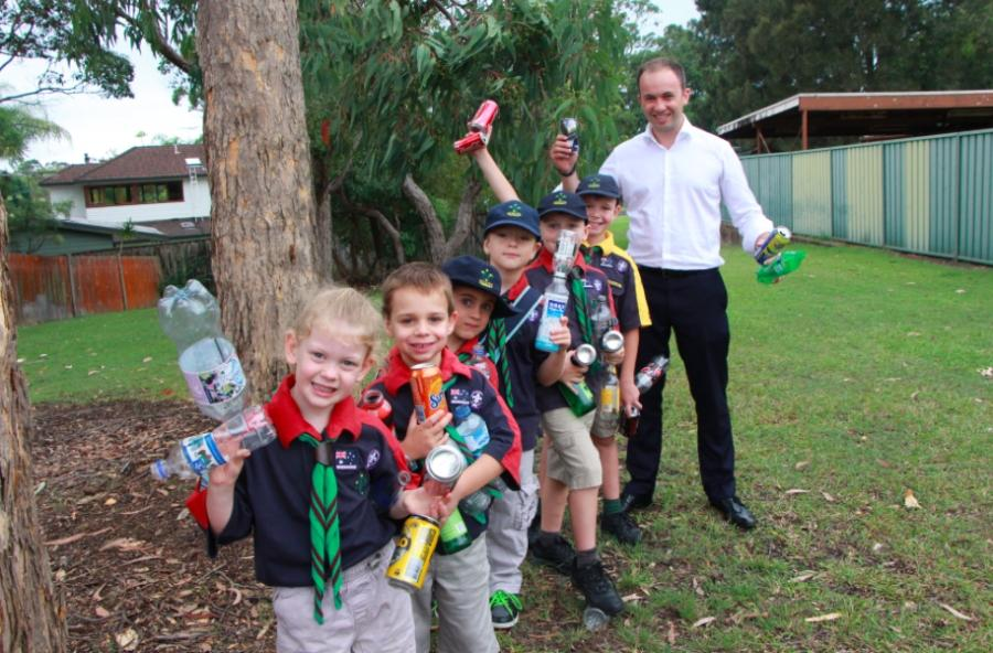 Photo of Matt with Hornsby Heights Cubs