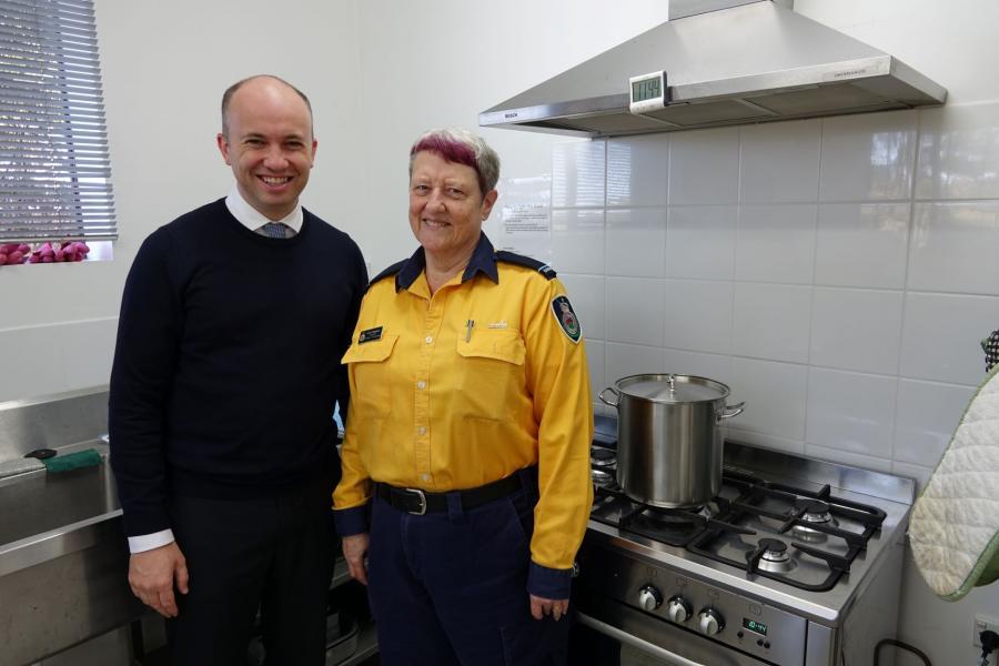 Matt Kean MP with Lindi Kingdom