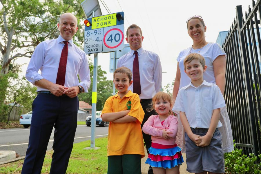 Flashing Lights for Normanhurst West