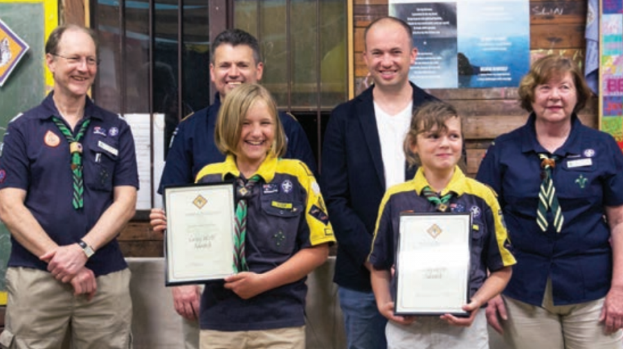 Grey Wolf Presentations at Hornsby Heights