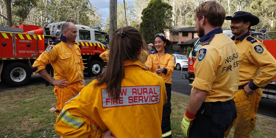 Matt Kean and Hornsby Rural Fire Service
