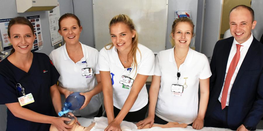 New nurses at Hornsby Hospital