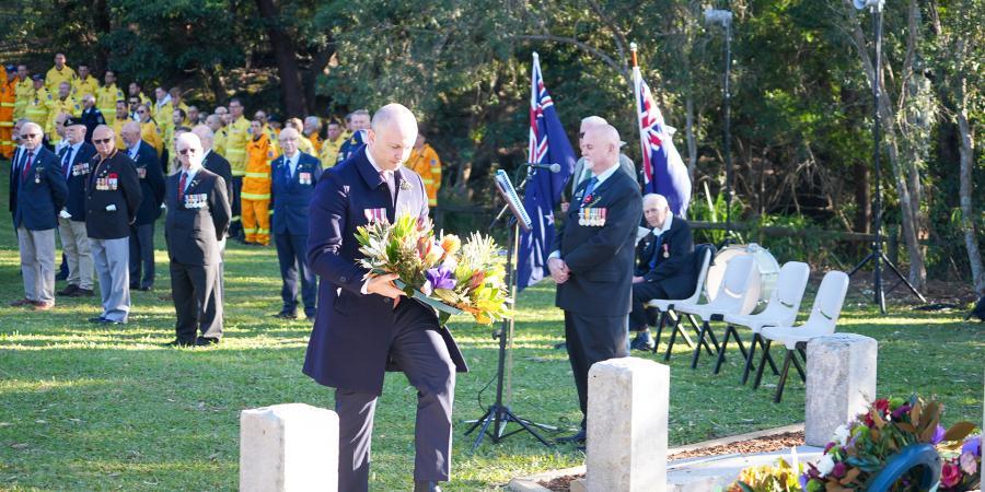 Member for Hornsby Matt Kean attends Berowra ANZAC Ceremony