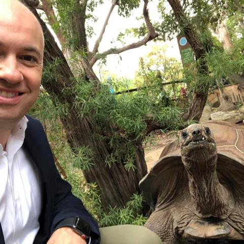 Matt Kean MP attends Taronga Zoo