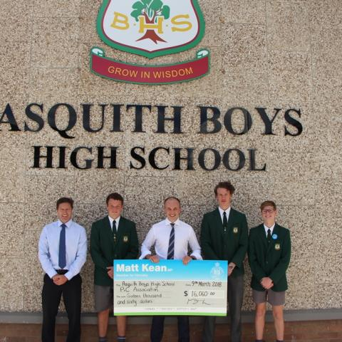 Cool change for Asquith Boys High School