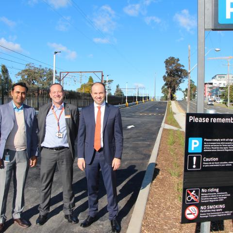New commuter car park in Asquith opens