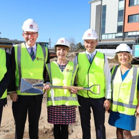 Stage 2 rebuild begins at Hornsby Ku-ring-gai Hospital