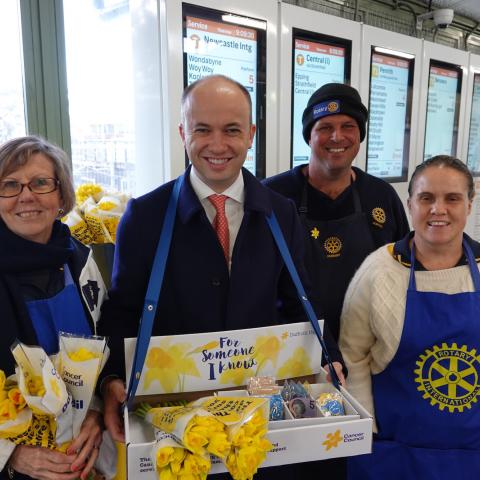 Daffodil Day in Hornsby