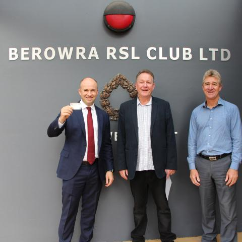 Matt Kean MP signs up to Club Berowra