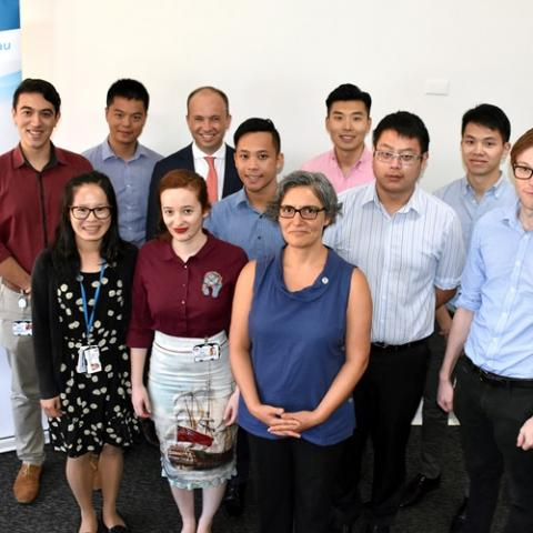 Matt Kean MP with the new Hornsby Hospital Interns