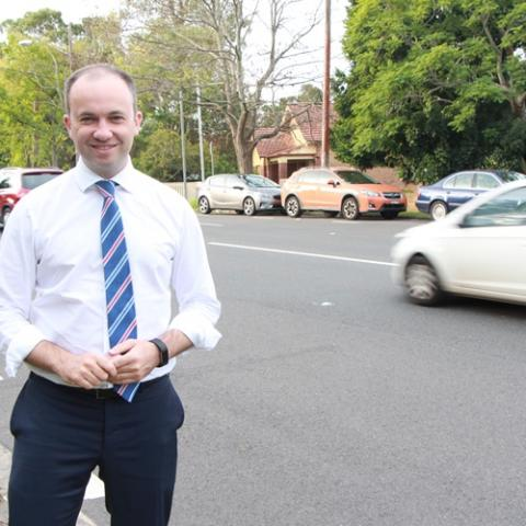 Member for Hornsby Matt Kean MP announces Road Safety Plan