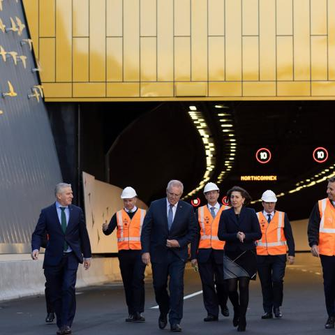 First end-to-end drive through NorthConnex Tunnel