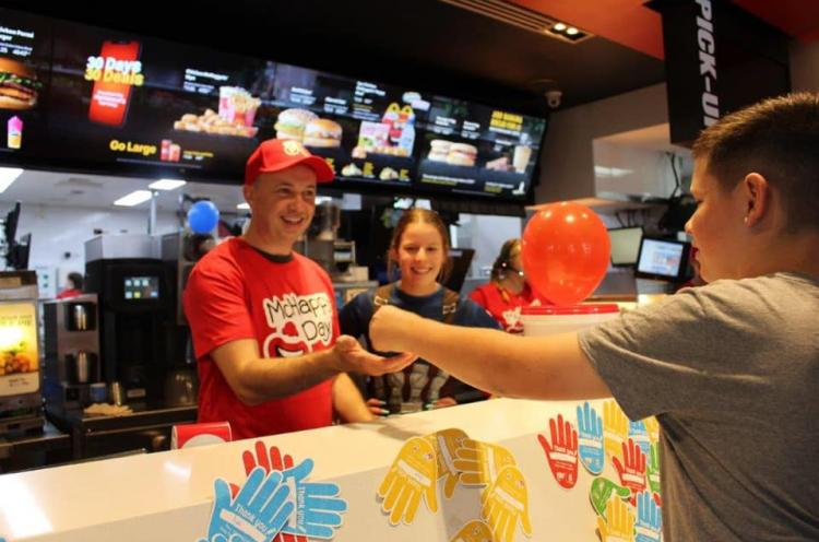 Matt Kean at McHappy Day