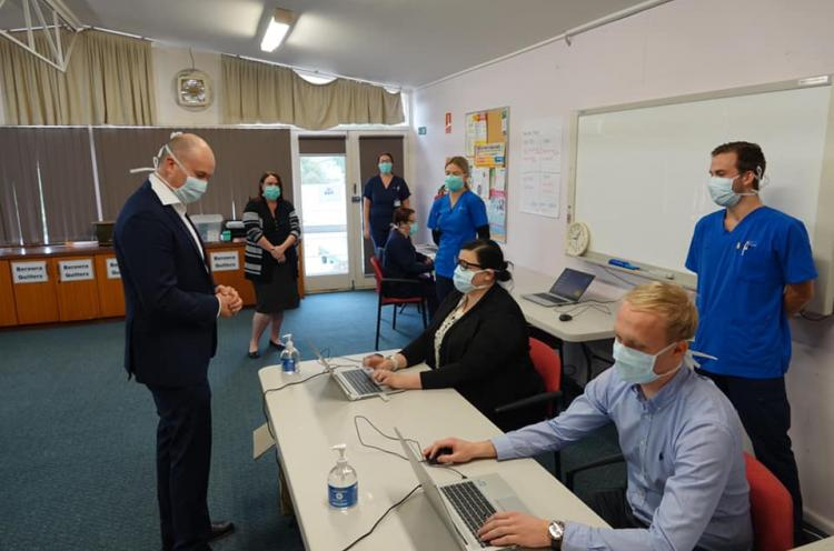 Pop up COVID Clinic in Berowra