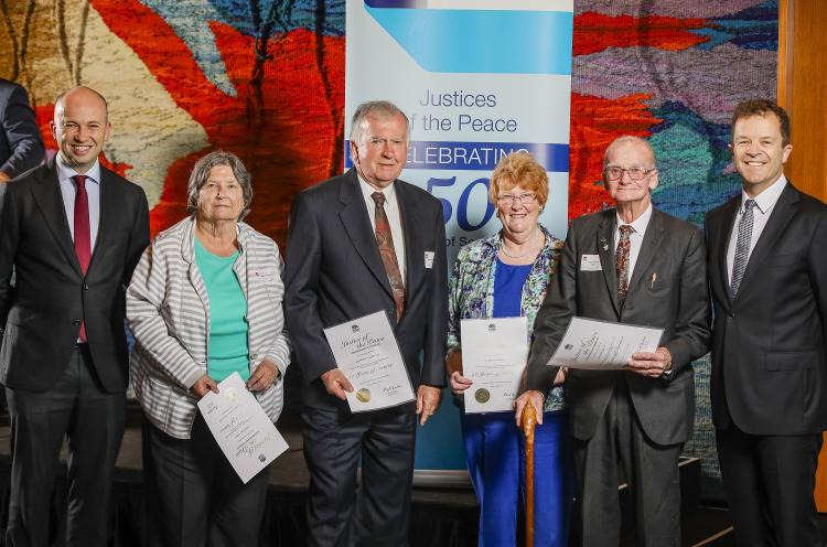 Matt Kean MP celebrates Hornsby JPs
