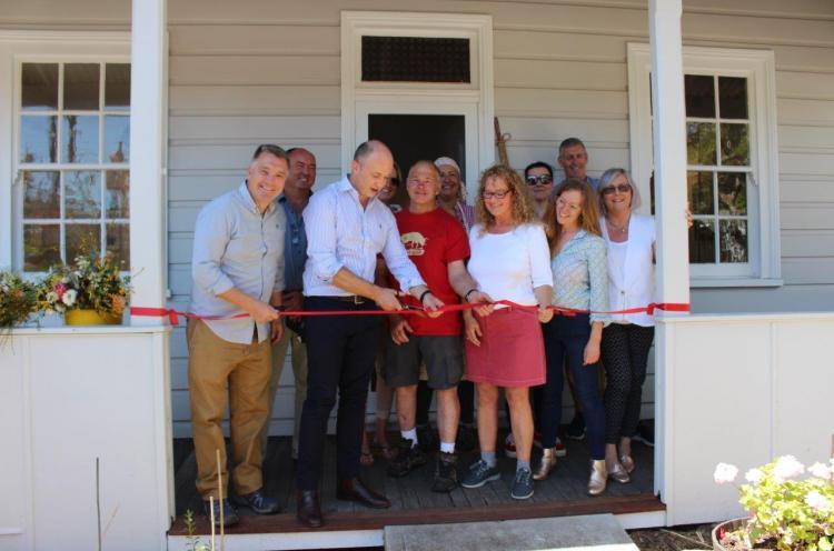 Matt Kean opens The Cottage in Brooklyn