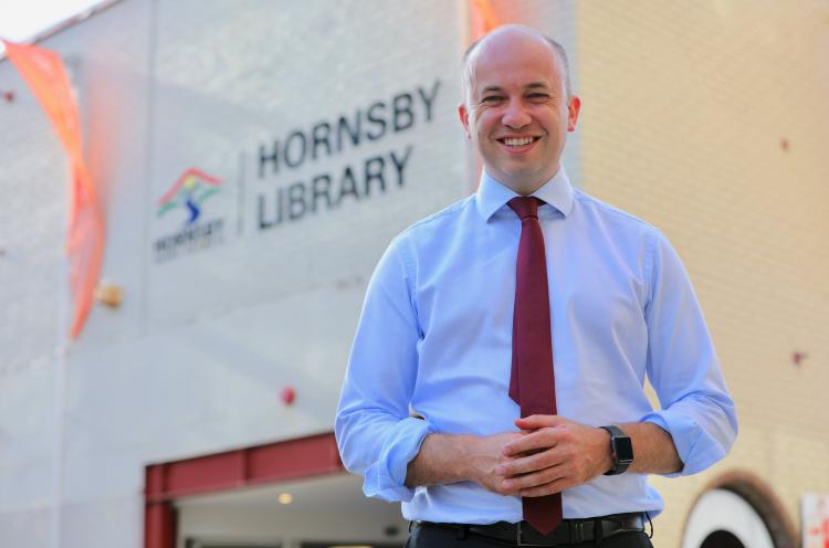 Additional funding for Hornsby Library
