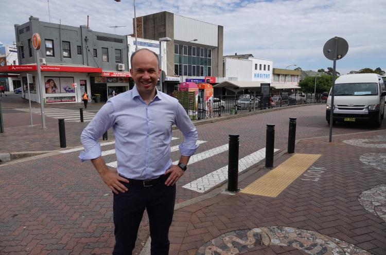 Hornsby state Liberal MP Matt Kean unveils plans for new multi-deck carpark in Hornsby CBD