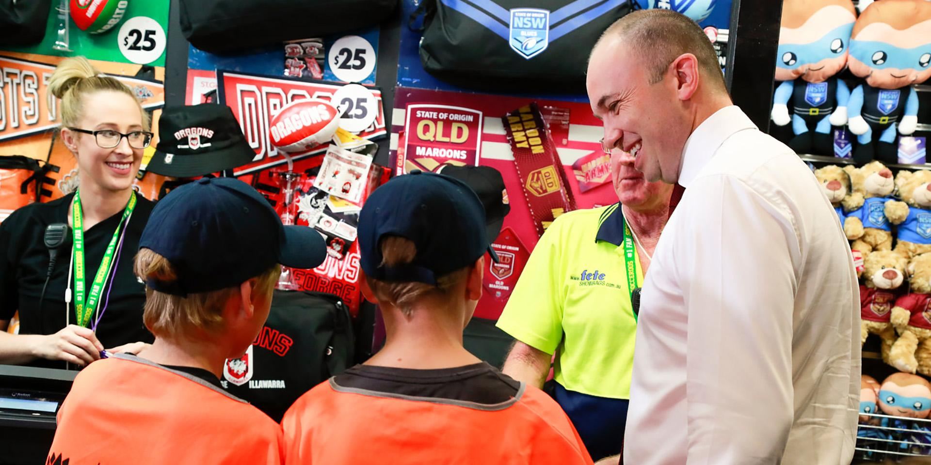 Fair Trading inspects Easter Show bags