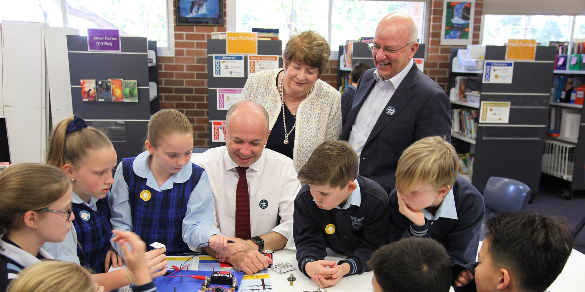 Ausgrid Energy Safety Week at Hornsby North Public School