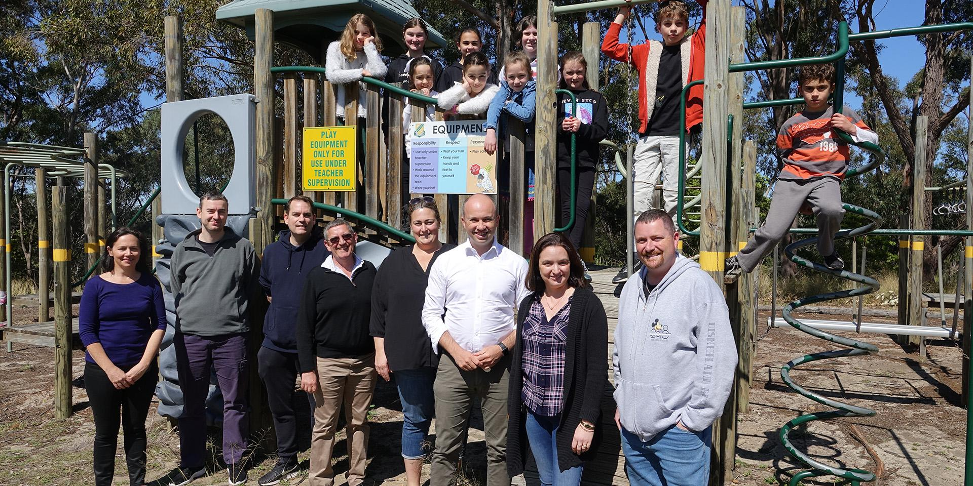 Hornsby Heights Public School celebrates successful application for My Community Project