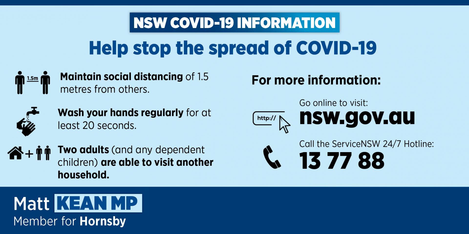 Latest COVID-19 Advice