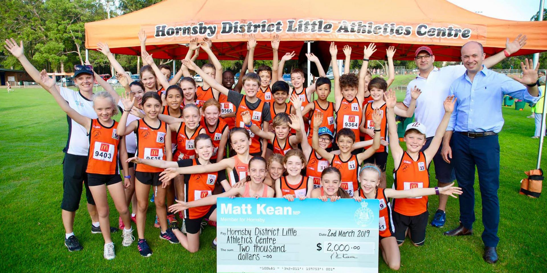 Hornsby District Little Athletics