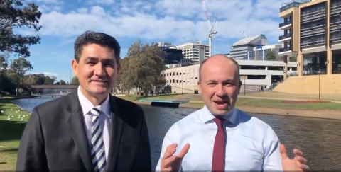 Matt Kean MP and Geoff Lee MP