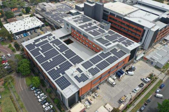 Hornsby Hospital Solar Power