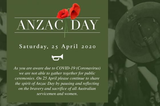 Matt Kean MP ANZAC Brochure