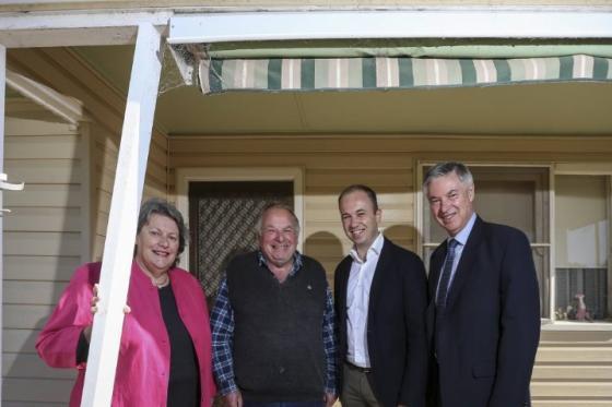Minister for Innovation and Better Regulation Mr Matt Kean MP in Holbrook