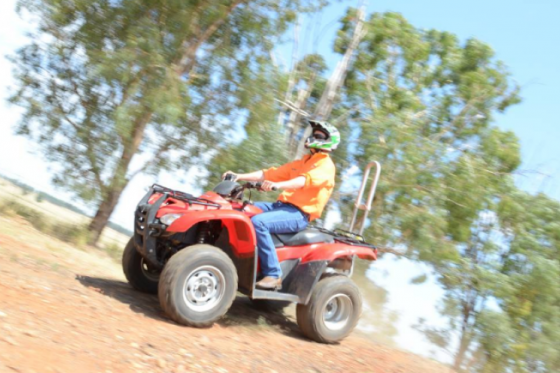 Investment in quad bike safety totals $3.7 million