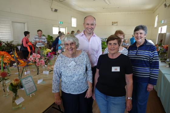 Matt Kean MP with the members of the Berowra Garden Club