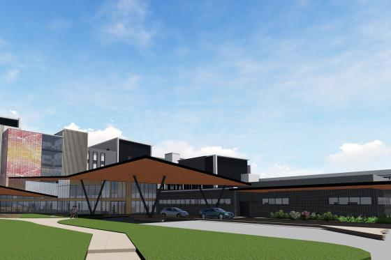 Plans for Stage Two of the Hornsby Hospital Redevelopment