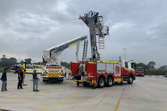 Hornsby Fire and Rescue first to receive new truck