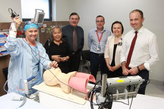 Hornsby Ku-Ring-Gai District Tennis Association makes $4,000 donation to Hornsby Hospital