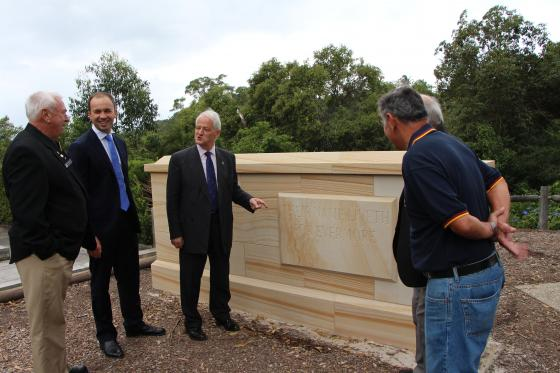 Picture of Matt with Berowra Federal MP Philip Ruddock