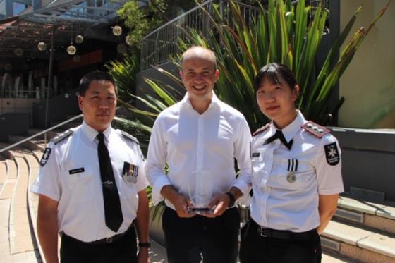 Matt Kean awarded Save a Life Award