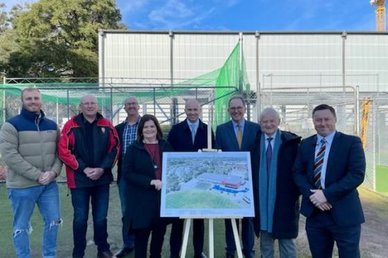 BOWLED OVER BY PLANS FOR MARK TAYLOR OVAL