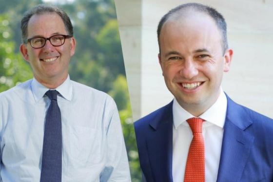 Photo of Mr Matt Kean MP and Mr Alistair Henskens MP