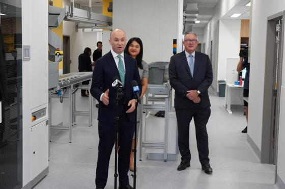 HORNSBY HOSPITAL'S PHARMACY GOES ROBOTIC