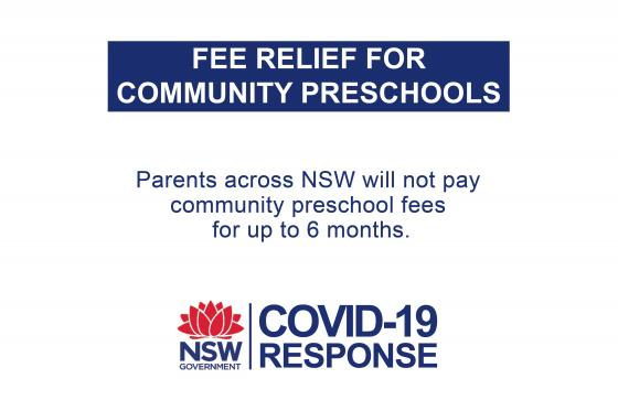 Free preschool for NSW for up to 6 months
