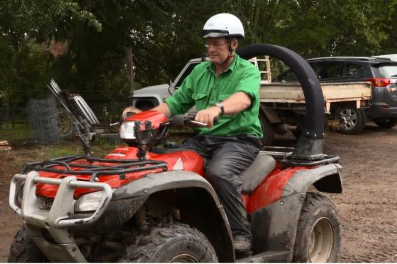 Government takes strong stance on Quad bike safety