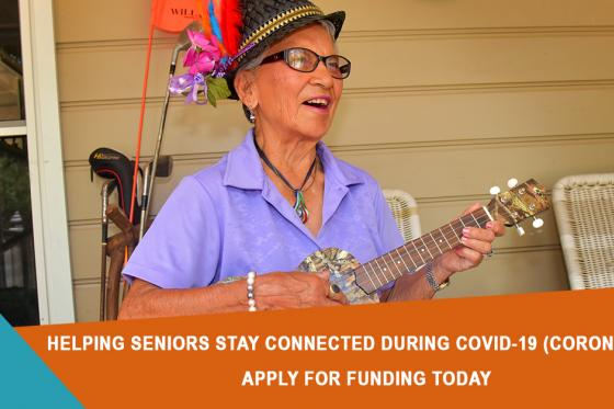 Grants to combat isolation for seniors