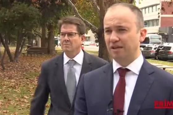 Minister for Innovation and Better Regulation Matt Kean in Tamworth