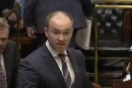 Minister Kean answers questions on residential tenancy during question time